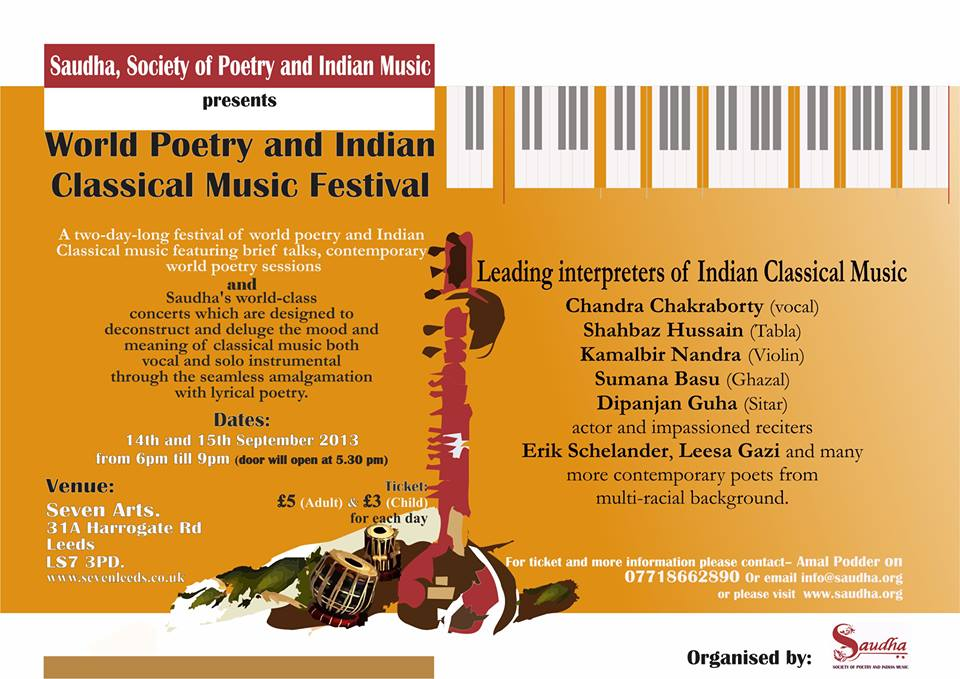 SAUDHA Society Of Poetry And Indian Music